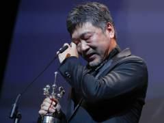 El japonés Kore-eda se emociona con su Premio Donostia
