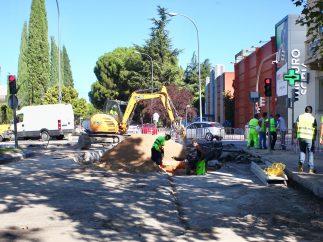 El socavón que atasca el noreste de Madrid