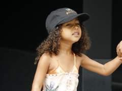 La hija de Kim Kardashian debuta en la pasarela