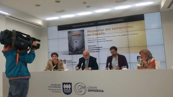 Presentación de Memorias del terrorismo en España.