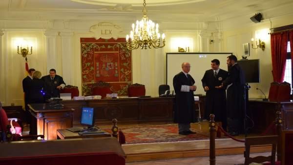 La Audiencia Provincial de León.