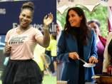 Serena Williams y Meghan Markle