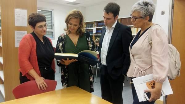 Mayte Pérez este lunes en el Conservatorio.