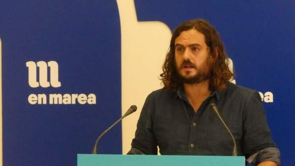 Antón Sánchez, en rueda de prensa