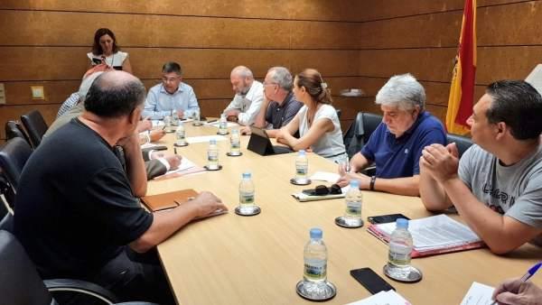 Fulgencio trasllada a Per l'Horta la disposició de Foment a veure les opcions de millora en les obres de l'V-21