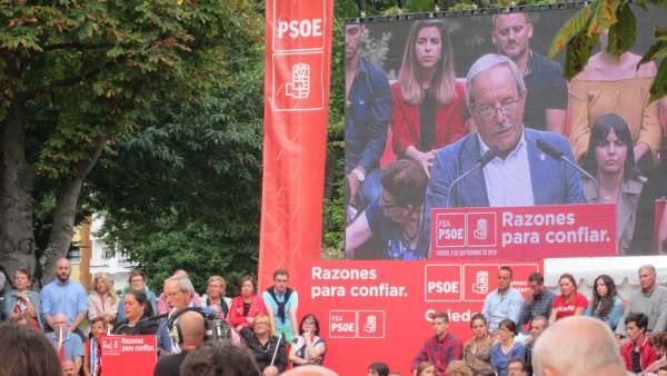 El alcalde de Oviedo, Wenceslao López
