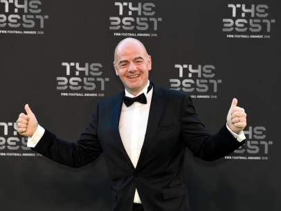 Gianni Infantino, en 'The Best'