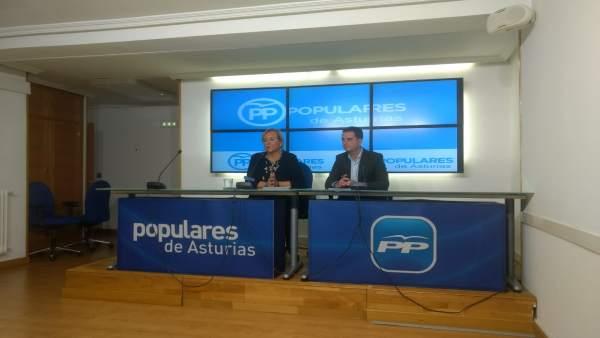 Mercedes Fernández y David Medina.
