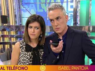 Isabel Pantoja habla de nuevo en 'Sálvame'.