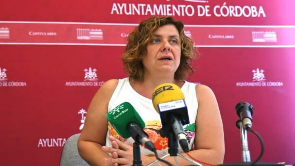La teniente de alcalde de Hacienda del Consistorio cordobés, Alba Doblas