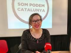 Noelia Bail, nueva secretaria general de Podem Catalunya en sustitución de Xavier Domènech