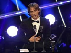 Luka Modric gana el Premio The Best 2018 al mejor jugador