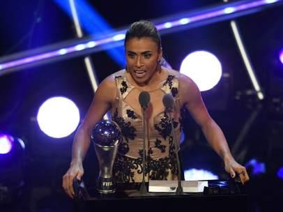 Marta, premio 'The Best' 2018 a mejor jugadora