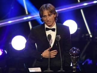 Los premiados en la gala 'The Best' de la FIFA 2018