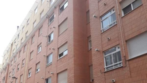 Fachada de la vivienda donde se ha producidoel suceso