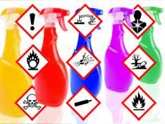 ¿Qué significa cada signo de peligro de los productos de limpieza?