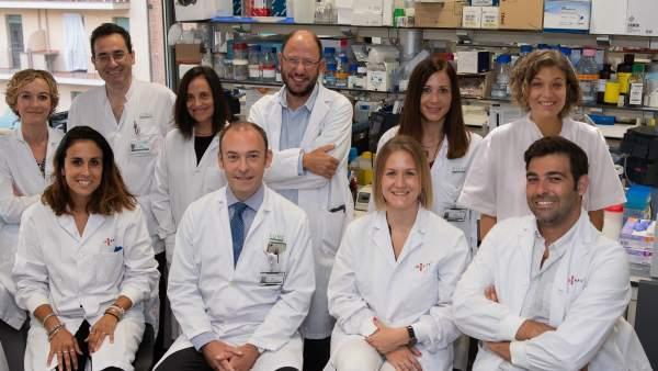 Investigadores del Hospital Clínic Idibaps.