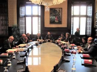 Mesa y Junta de Portavoces del Parlament de Catalunya.