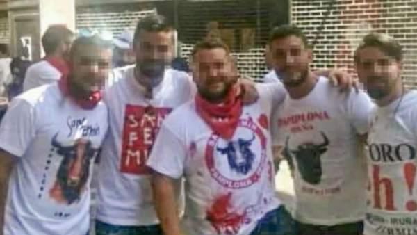 La jueza de Pozoblanco procesa a cuatro miembros de 'La Manada'