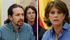 Iglesias pide la dimisión de la ministra Delgado