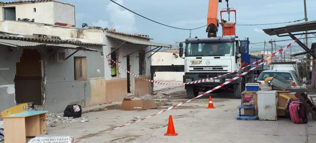 Cort iniciará este miércoles el derribo de otras tres viviendas de Son Banya