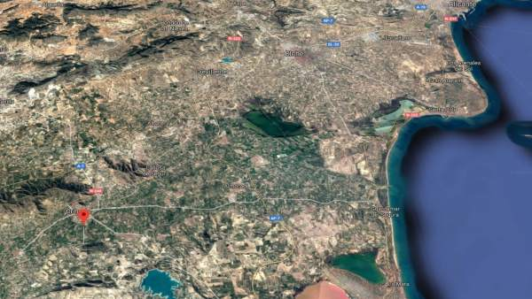 Localización de Orihuela