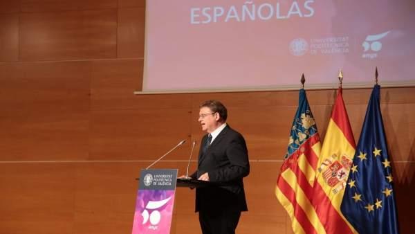 """Puig reivindica el paper de la universitat com a """"aliada de la democràcia"""""""