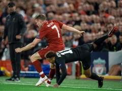 Milner se cachondea del premio Puskas ganado por Salah