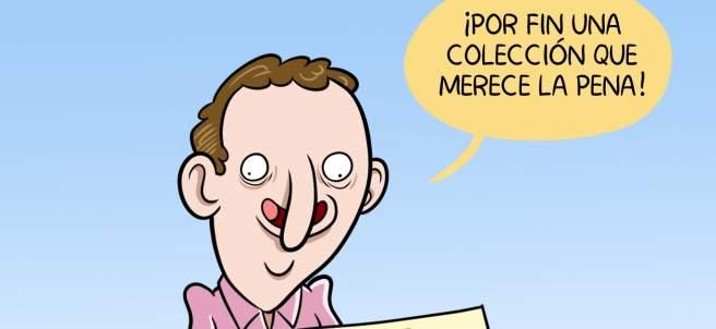 'Colecciones de septiembre', viñeta de Álvaro Terán