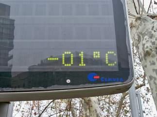 Termómetro en España