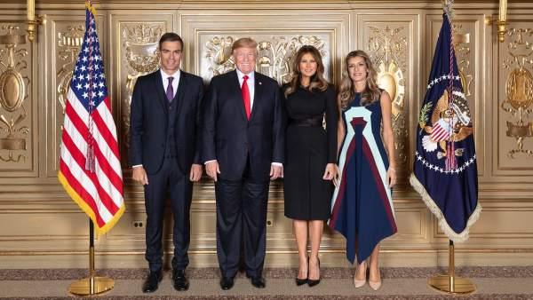 Sánchez y Trump, en la Casa Blanca