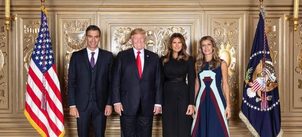 Sánchez y Trump