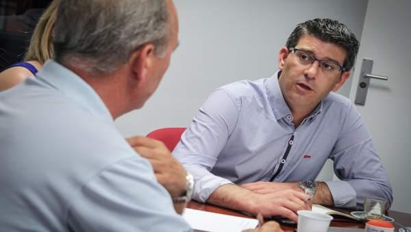Ferraz avisa que Jorge Rodríguez no pot ser candidat a alcalde d'Ontinyent