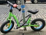 La bicicleta del hijo de la escritora Christie Dietz