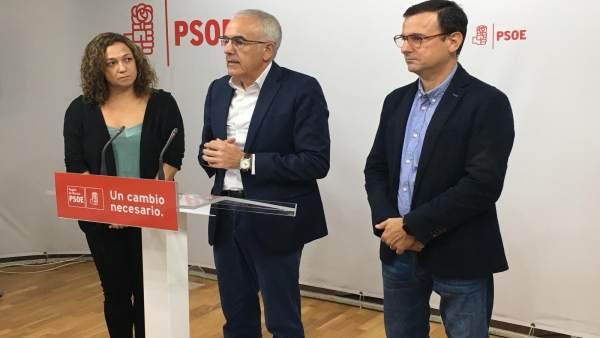Alfonso Martínez Baños en rueda de prensa