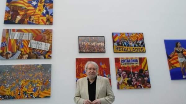 """Puig sobre la mostra de Miró: """"La llibertat d'expressió ens ha costat molt d'aconseguir perquè ara s'esvaïsca"""""""