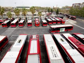 Flota de autobuses de la EMT de València