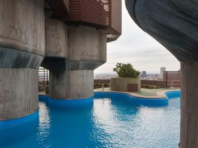 El edificio Torres Blancas, del arquitecto Francisco Javier Sáenz de Oiza