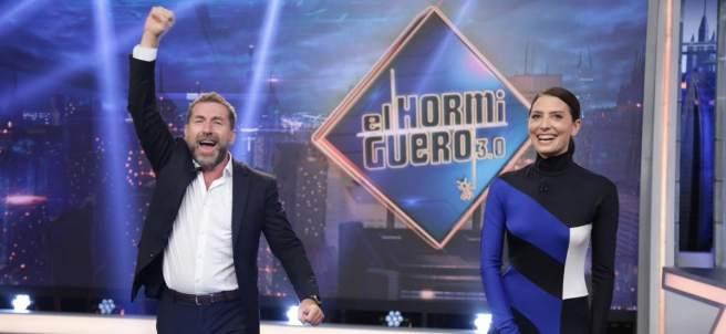 Antonio de la Torre y Bárbara Lennie en 'El hormiguero'.