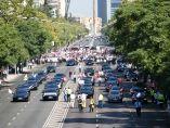 Manifestación de VTC en Madrid