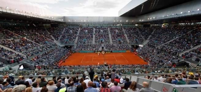 Final del Open de Tenis en la Cája Mágica
