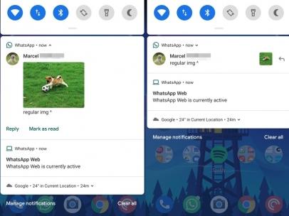 Notificaciones en Android 9 Pie