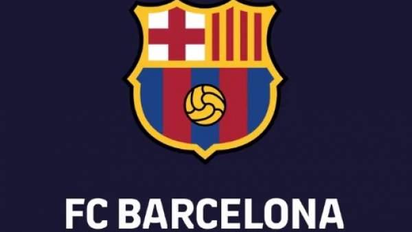 Nuevo escudo del Fútbol Club Barcelona.