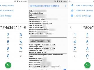 Códigos ocultos en Android
