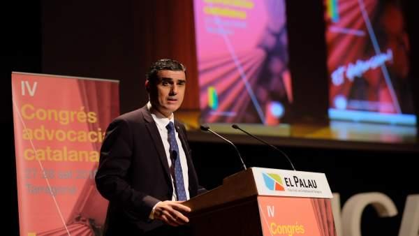 El presidente del Consell de l'Advocacia Catalana, Julio J. Naveira