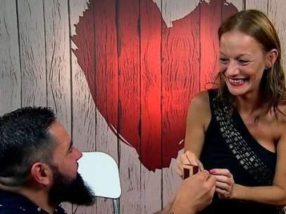 Manuel y Manuela en 'First Dates'.