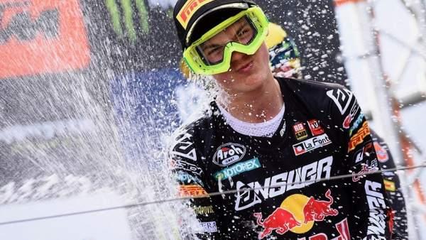 Jorge Prado campeón del mundo de motocross