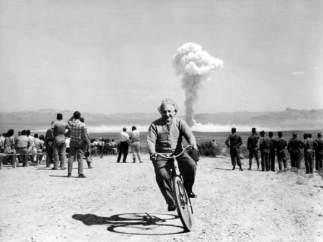 Einstein y la explosión nuclear