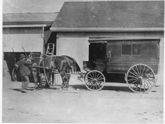 La primera ambulancia