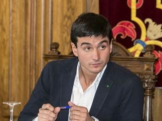 David Vázquez, teniente de alcalde de Palencia